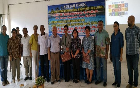 """Kuliah UMUM """"FPIK For SDG's"""""""